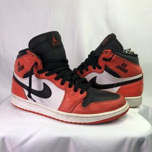Air Jordans 1 Rare Vintage 84 Style Basketball Shoes Size 10 for Sale in Lawndale, CA