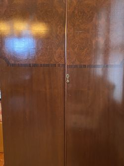 Antique Armoire With Custom Storage Drawers for Sale in West Orange,  NJ
