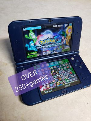 Modded new 3ds xl Galaxy style edition with over 250+games for Sale in Chico, CA