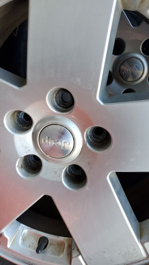 18inch jeep rims for Sale in Framingham, MA
