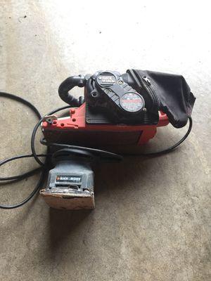 Black and Decker belt sander and hand sander for Sale in Belleville, IL