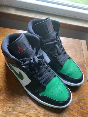 "Air Jordan Retro 1 ""Green Toe"" Men's Size 10.5 for Sale in New Haven, CT"
