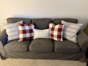 Grey Couch- IKEA EKTORP for Sale in Los Angeles, CA