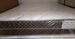 GREAT SALE QUEEN PLUSH MATTRESS AND BOX SPRING for Sale in Biscayne Park, FL