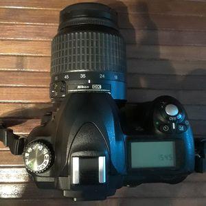 Nikon D50 6.1-megapixel DSLR With (2) Apertures (3) Tiffen Lenses, Shoulder Strap Case, (3) Extra SD Cards/Adapters for Sale in Portland, OR
