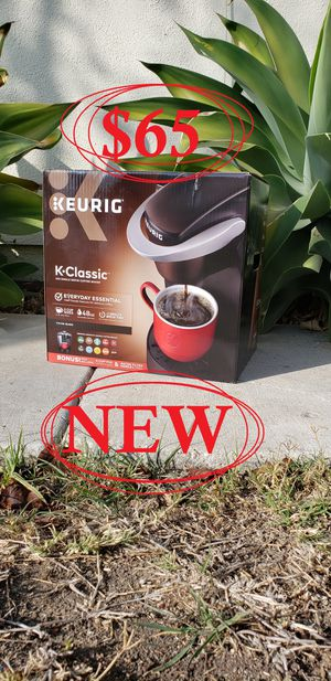 BRAND NEW Keurig K-Classic K55 Coffee maker - BOX NEVER OPENED - GREAT CHRISTMAS GIFT for Sale in Ventura, CA