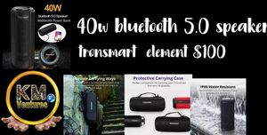 40 w bluetooth speaker for Sale in Orlando, FL