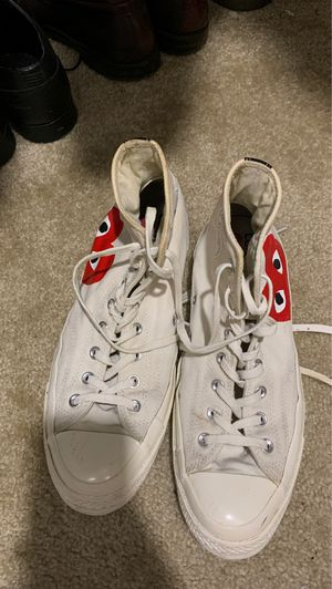 Converse Comme Des Garçons sneakers Size 10 for Sale in Irving, TX