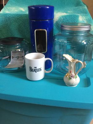 Coffee Carafe, Storage Container, Cookie Jar, Mug & pitcher vase for Sale in Fresno, CA