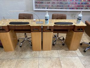 Manicure tables for Sale in Fort Worth, TX