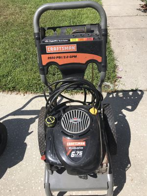 Craftsman pressure washer for Sale in Lutz, FL