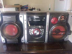 Panasonic CD stereo system 5 CD changer for Sale in Fresno, CA