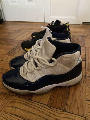 "Jordan 14 Retro ""Thunder""+ Jordan 11 ""Win like 82"" + Jordan 12 ""Gym Red"" for Sale in New York, NY"
