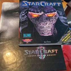 2 Starcraft Official Strategy Guide Book And Hardcover Two Different Books Starcraft I & II for Sale in Cumming,  GA