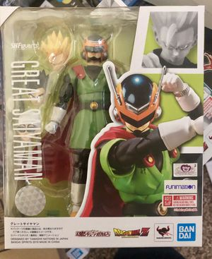Dragonball z SH Figuarts great saiyaman for Sale in Kent, WA