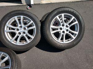 "Chavy Camaro wheels 18"" tires no good 5x120 for Sale in Ontario, CA"