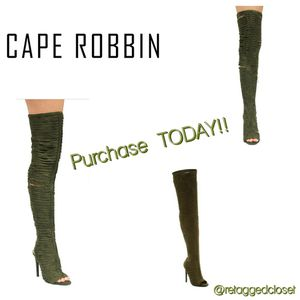 "Cape Robbin ""Libby"" Thigh Boots for Sale in Washington, DC"