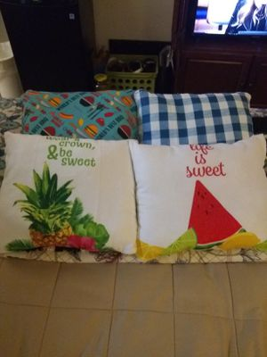 Throw pillows for Sale in Eau Claire, WI