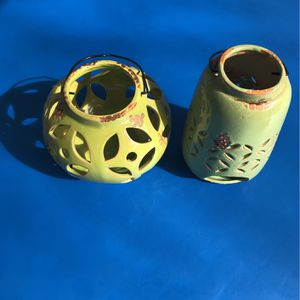 Beautiful Two Set Decorative Candle Holder. Perfect To Lighten The Mood In Any Room for Sale in Phoenix, AZ