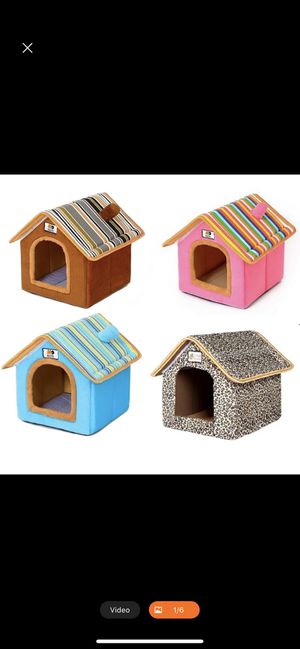OEM washable/Foldable luxury indoor Dog/Cat house. for Sale in Anaheim, CA