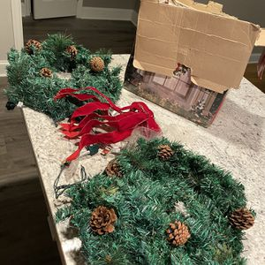 Pre Lit Wreaths for Sale in Portsmouth, VA