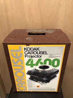 Vintage Kodak Carousel Projector model 4600 for Sale in Wichita, KS
