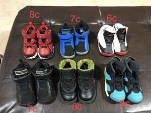 Lot of kids Jordan's for sale. for Sale in Laytonsville, MD