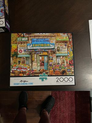 2,000 Piece Puzzle Aimee Stewart Brown's General Store for Sale in Orange, CA