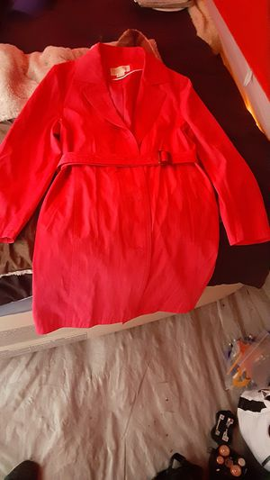 Michael Kors Hot Pink trench rain coat for Sale in SeaTac, WA