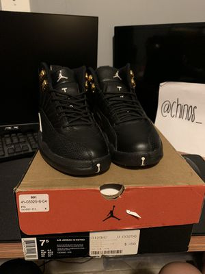 Jordan 12 Retro The Master Size 7.5 for Sale in Norwalk, CA