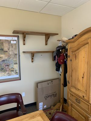Wall shelves x4 - Solid wood for Sale in Mesa, AZ