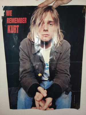 KURT COBAIN PHOTO for Sale in Monroeville, PA