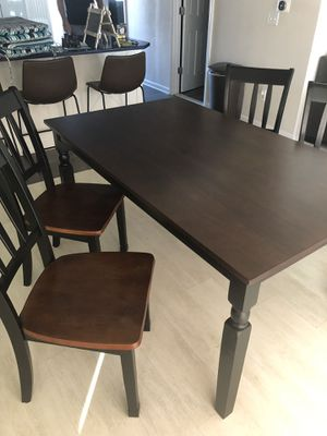 Kitchen Table 4 chairs for Sale in Batsto, NJ