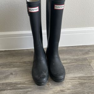 Black Hunter Rain Boots for Sale in Austin, TX