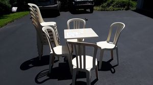Social distancing bistro table and chairs for Sale in West Chester, PA