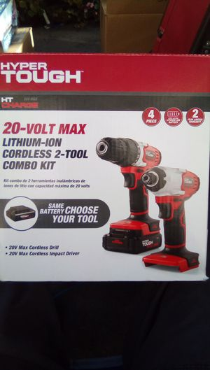 20 volt max drill &;impact driver for Sale in Santee, CA