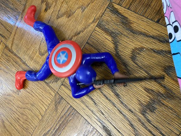 Captain America toy moves and musical