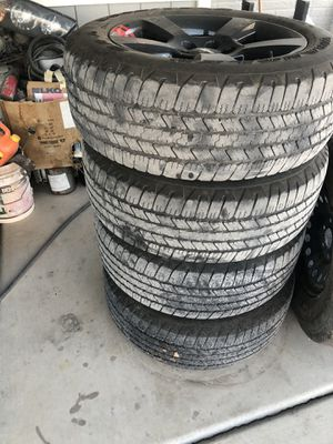 20 rims and tires for Sale in Las Vegas, NV