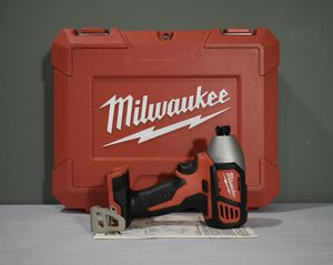 Milwaukee M18 Cordless 1/4 in. Hex Impact Driver (Tool-Only) + Hard Case for Sale in Queens, NY