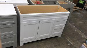 48'' White Vanity for Sale in Dallas, TX