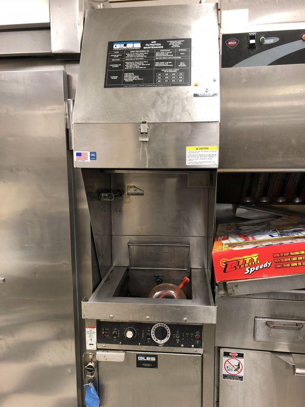 Commercial Kitchen Equipment, Ventless Hood, Griddle, Fryer, Oven