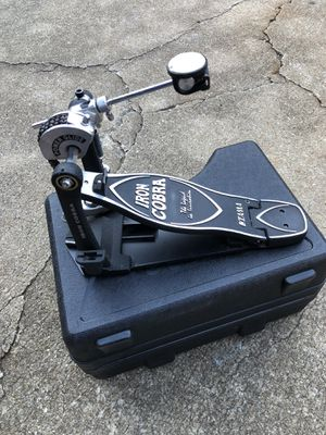 "TAMA ""Iron Cobra"" bass pedal w/ case for Sale in Atlanta, GA"