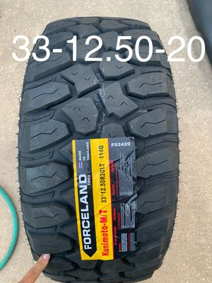 4 new 33-12.50-20 for Sale in Houston, TX