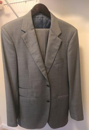 Zaharoff Grey 2 button suit. 40L for Sale in Woodbridge, VA