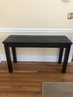 Black Console Table for Sale in Arlington, MA