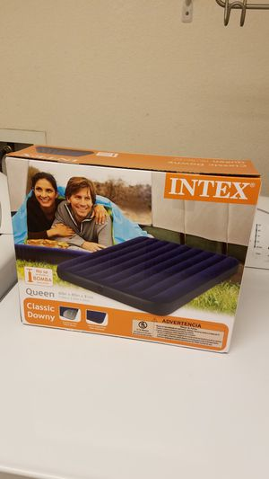 Brand New Sealed Intex Queen Air Mattress... for Sale in HILLTOP MALL, CA