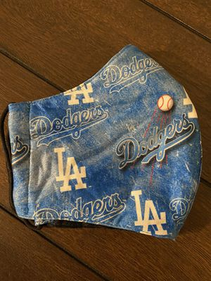 Adults dodgers face mask for Sale in Los Angeles, CA