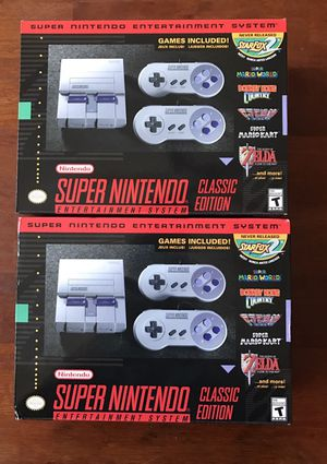 Super Nintendo Classic Edition Mini for Sale in Orlando, FL