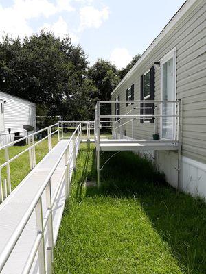 Aluminum Handicap or camp ramp for Sale in Port Barre, LA
