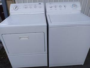 Kenmore washer and gas dryer set top load for Sale in San Leandro, CA